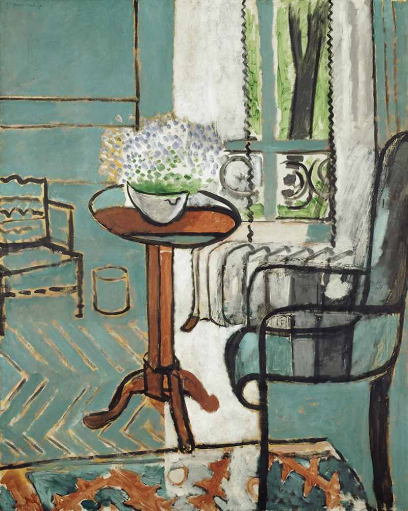 Henri Matisse La Finestra Yağlı Boya Sanat Kanvas Tablo