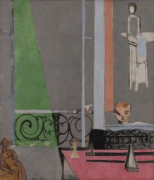 Henri Matisse Piyano Dersi Yağlı Boya Klasik Sanat Kanvas Tablo
