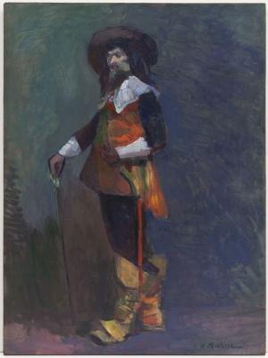 Henri Matisse Portre Yağlı Boya Klasik Sanat Canvas Tablo