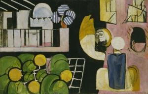 Henri Matisse Soyut Yağlı Boya Klasik Sanat Canvas Tablo