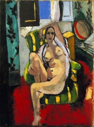 Henri Matisse Tamburin Manzara Yağlı Boya Klasik Sanat Canvas Tablo