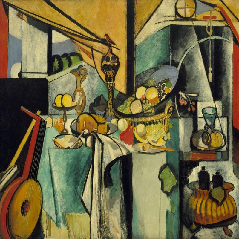 Henri Matisse Yaşam Yağlı Boya Klasik Sanat Canvas Tablo