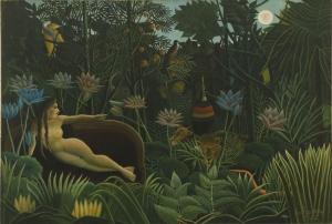 Henri Rousseau Rüya Yağlı Boya Klasik Sanat Canvas Tablo