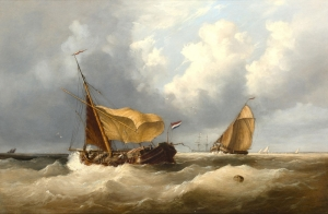 Henry King Taylor Hollandalı Denizci Yağlı Boya Klasik Sanat Kanvas Tablo