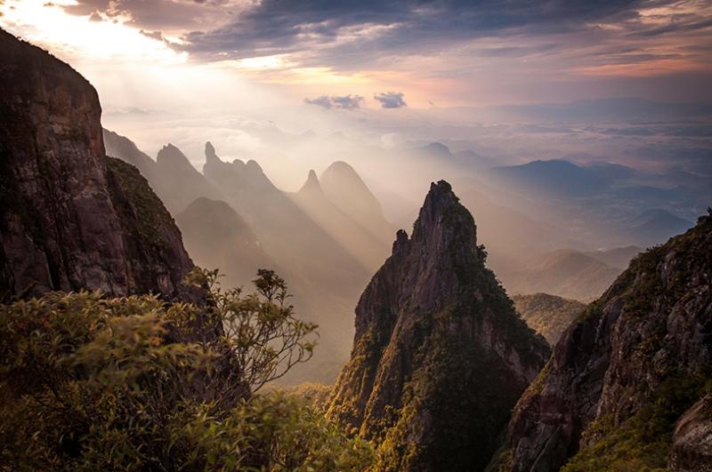Herkül Dağı Doğa Manzaraları Kanvas Tablo