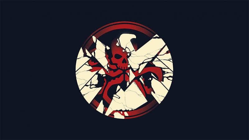 Hidra Logo Süper Kahramanlar Kanvas Tablo