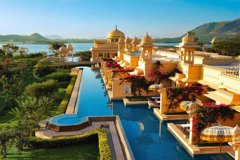 Hindistan Doğa Manzaraları Kanvas Tablo