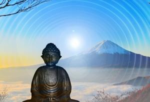 Hindu Meditasyon Dini & İnanç Kanvas Tablo