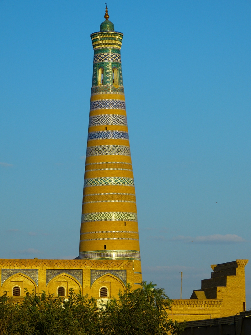 Hiva Minare 2 Unesco Dünya Kültür Mirasları Kanvas Tablo