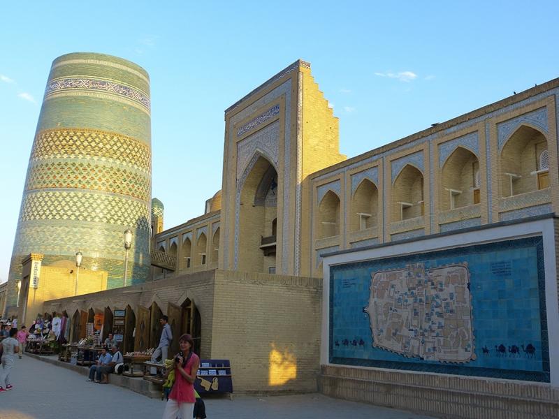 Hiva Minare Unesco Dünya Kültür Mirasları Kanvas Tablo