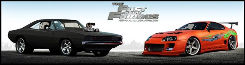 Hızlı ve Öfkeli 6 Fast and Furious Charger Supra Tablo