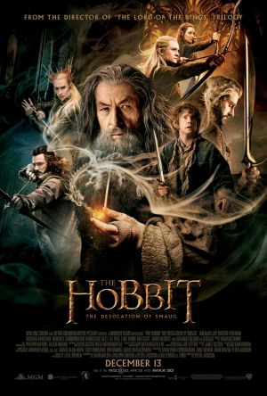 Hobbit Afiş Kanvas Tablo