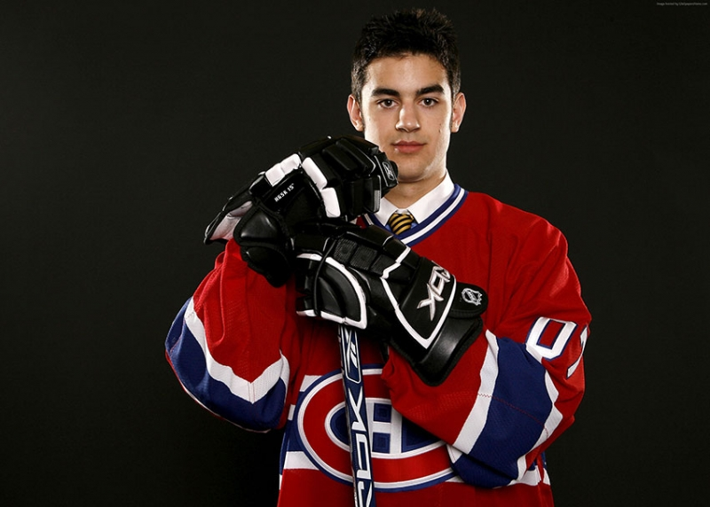 Hokey Max Pacioretty Montreal Canadiens Spor Kanvas Tablo
