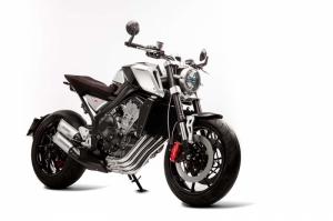 Honda CB 44 Konsept Özel Tasarım Motorsiklet Araçlar Kanvas Tablo