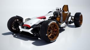 Honda F1 Motorlu Konsept Ozel Tasarim Motorsiklet Araclar Kanvas Tablo