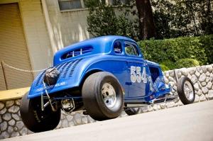 Hot Rod Klasik Otomobil 2 Araçlar Kanvas Tablo
