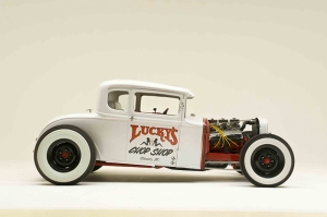 Hot Rod Klasik Otomobil 3 Araçlar Kanvas Tablo