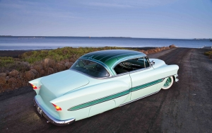 Hot Rod Klasik Otomobil Araçlar Kanvas Tablo