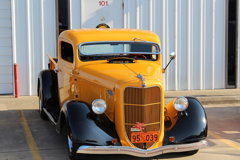 Hot Rod Klasik Pickup Araçlar Kanvas Tablo