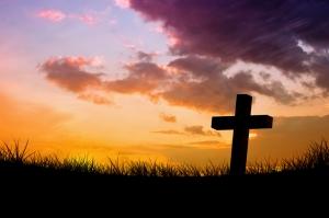 Hristiyan Mezar Taşı Dini & İnanç Kanvas Tablo