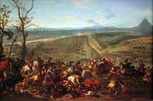 Huchtenburg Eroberungs Belgrads Yağlı Boya Sanat Kanvas Tablo