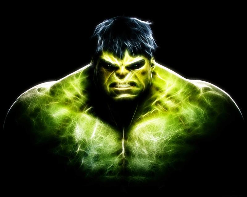 Hulk Süper Kahramanlar Kanvas Tablo