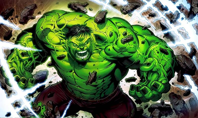 Hulk Yeşil Dev Marvel Süper Kahramanlar Kanvas Tablo