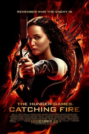 Hunger Games Catching Fire Film Afişi Sinema Kanvas Tablo
