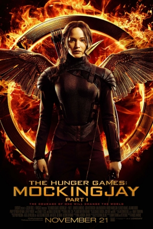 Hunger Games Mocking Jay Film Afişi Sinema Kanvas Tablo
