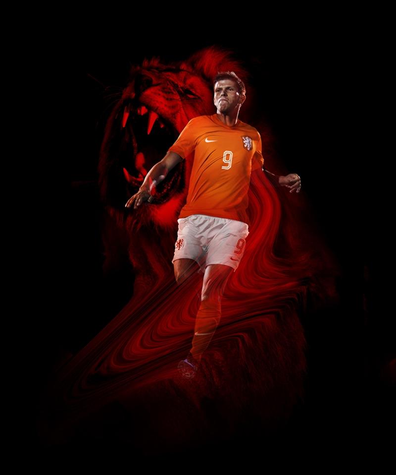 Huntelaar Hollandalı Futbolcu Spor Kanvas Tablo