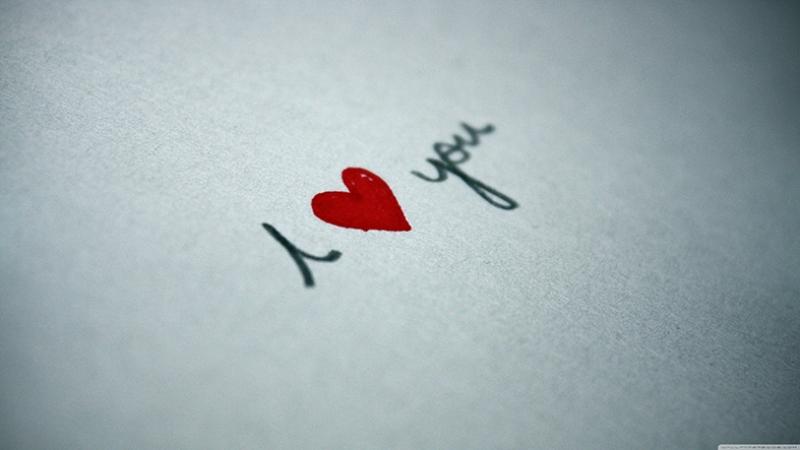 I LOVE YOU Aşk & Sevgi Kanvas Tablo 2