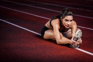 İdman Yapan Jimnastikçi Spor Kanvas Tablo