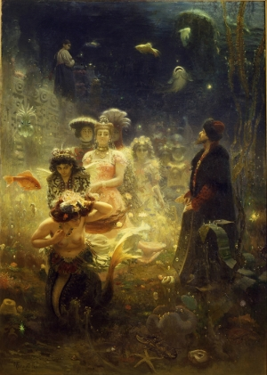 Ilya Repin Yağlı Boya Sanat Kanvas Tablo