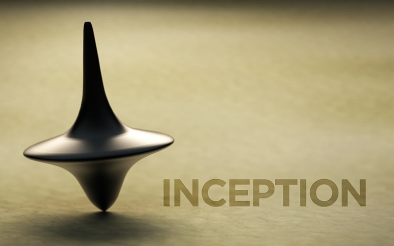 Inception Başlangıç Kanvas Tablo