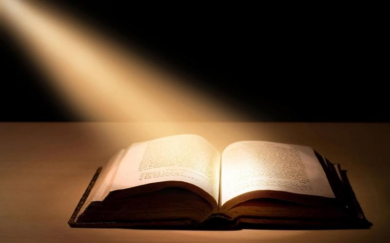 İncil ve İlahi Işık Dini & İnanç Kanvas Tablo