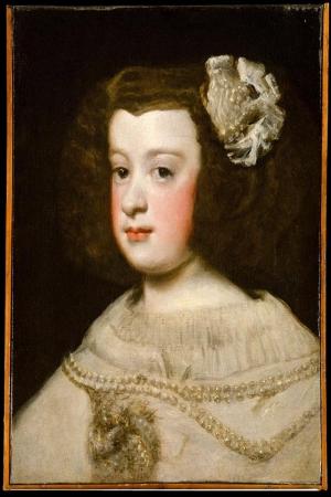 İnfanta Prenses Maria Terasa Diego De Velazquez Klasik Sanat Kanvas Tablo