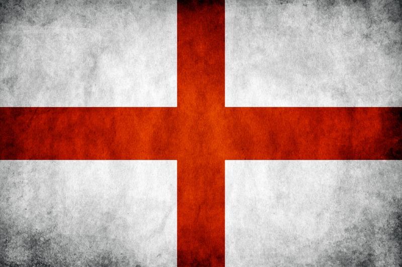 İngiliz Bayrağı, Eskitilmiş Retro İngiltere Bayrağı Kanvas Tablo
