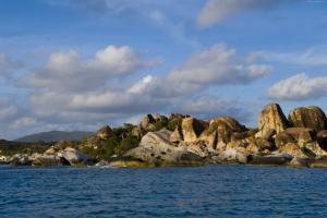 İngiliz Virgin Adaları Doğa Manzaraları Kanvas Tablo