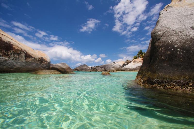 İngiliz Virgin Gorda Adaları 2 Doğa Manzaraları Kanvas Tablo