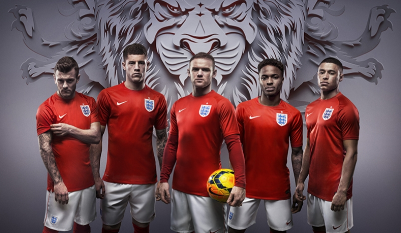 İngiltere Milli Takımı Futbol Kanvas Tablo