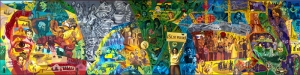 İnsanlar ve Duygular Yağlı Boya Sanat Kanvas Tablo