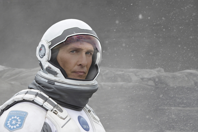 Intersteallar Matthew McConaughey Sinema Kanvas Tablo