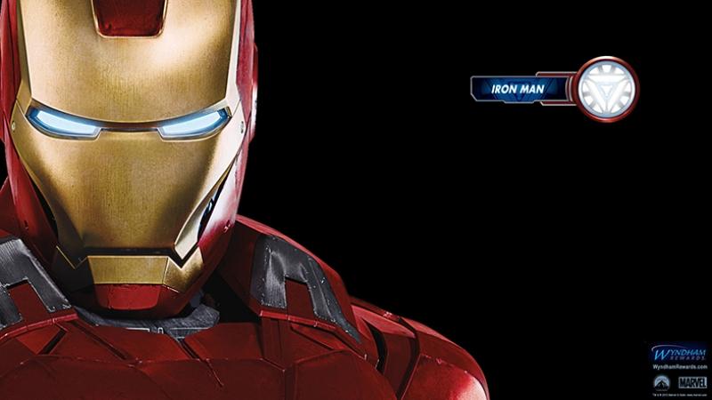 Iron Man Demir Adam-2 Marvel Süper Kahramanlar Kanvas Tablo