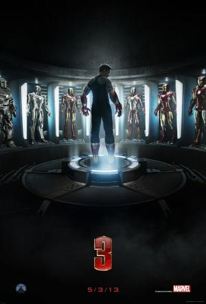 Iron Man Demir Adam 3 Afiş Kanvas Tablo