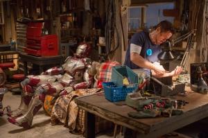 Iron Man Demir Adam 3 Film Sahnesi Süper Kahramanlar Kanvas Tablo