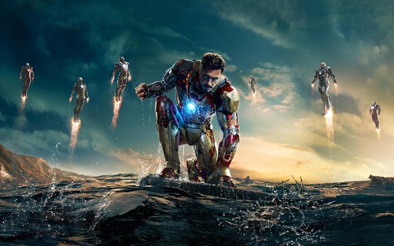 Iron Man Demir Adam 3 Film Süper Kahramanlar Kanvas Tablo