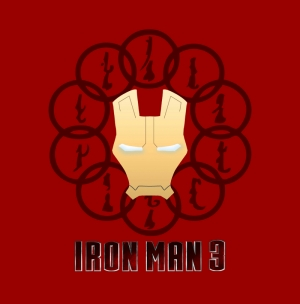 Iron Man Demir Adam 3 Kanvas Tablo 2