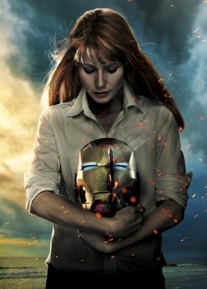 Iron Man Demir Adam 3 Papper Süper Kahramanlar Kanvas Tablo