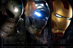 Iron Man Demir Adam-3 Zırhları Süper Kahramanlar Kanvas Tablo