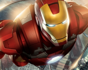 Iron Man Demir Adam Marvel Süper Kahramanlar Kanvas Tablo